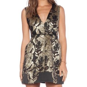 Alice + Olivia Pacey Lantern Dress - S